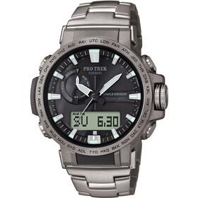 CASIO PRO TREK PRW-60T-7AER Zegarek Mężczyźni, silver/silver/black